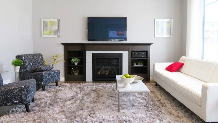 Ideas para instalar una chimenea en un piso