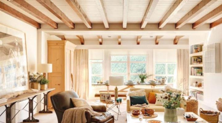 Vigas decorativas ideas de decoraci n para vigas interiores - Vigas decorativas ...