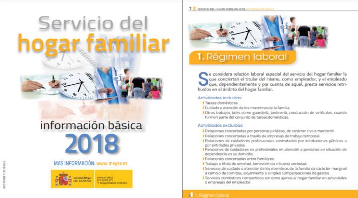 Servicios del hogar familiar 2018
