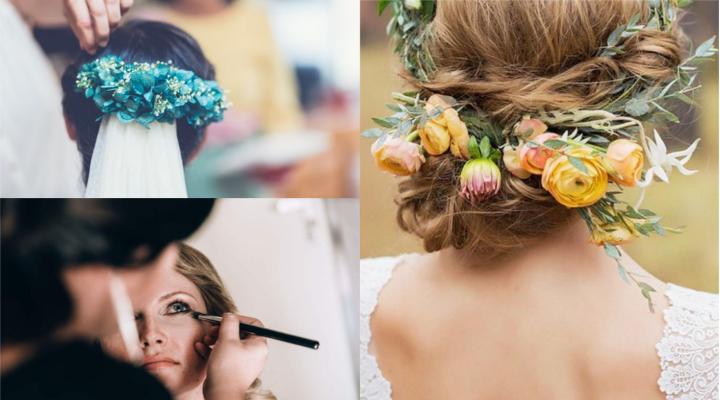 10 Claves sobre Cómo Elegir el Maquillaje y Peinado de Novia