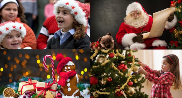 Fiesta de Navidad con niños