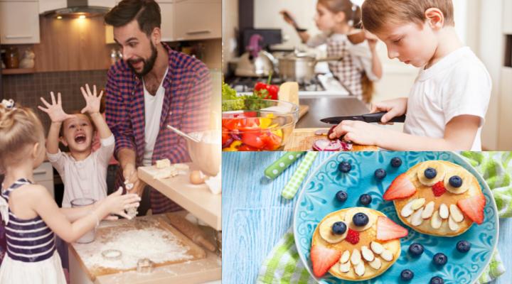 Por qué tus Hijos Necesitan Dar Clases de Cocina para Niños