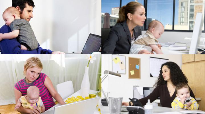 Cómo Compaginar Trabajo y Niños