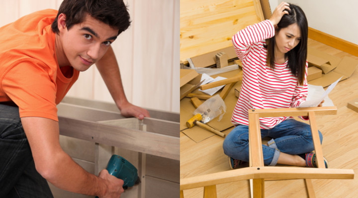 Contratar a un montador de muebles