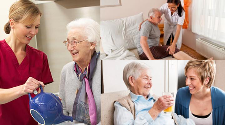 cuidador de ancianos o residencia