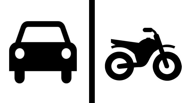 comprar coche o moto