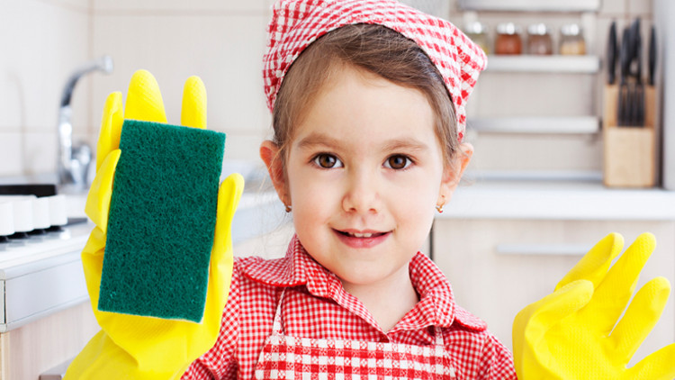 Tareas del hogar en las que los niños pueden colaborar