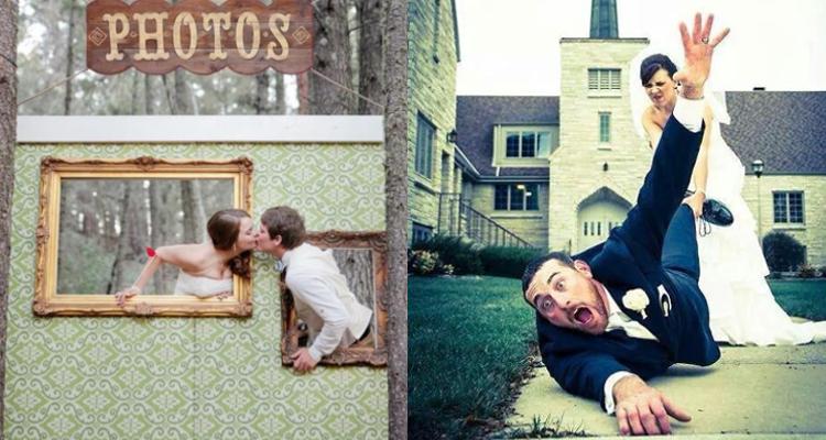 Ideas de fotografías de boda originales