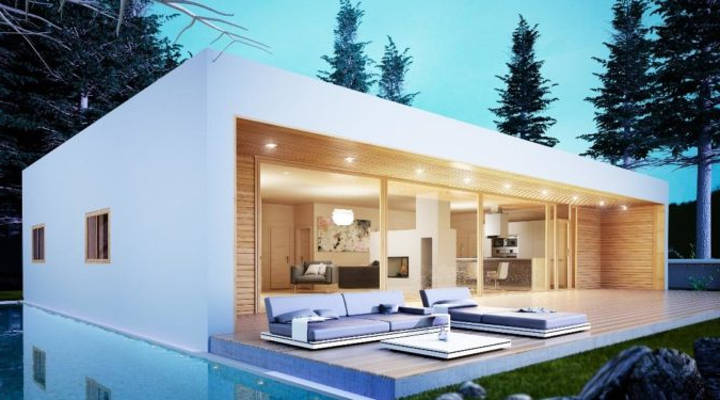 Ventajas de las casas prefabricadas construir o comprar - Cuanto cuesta hacer una casa de dos plantas ...