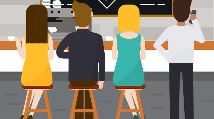 captar clientes para un bar