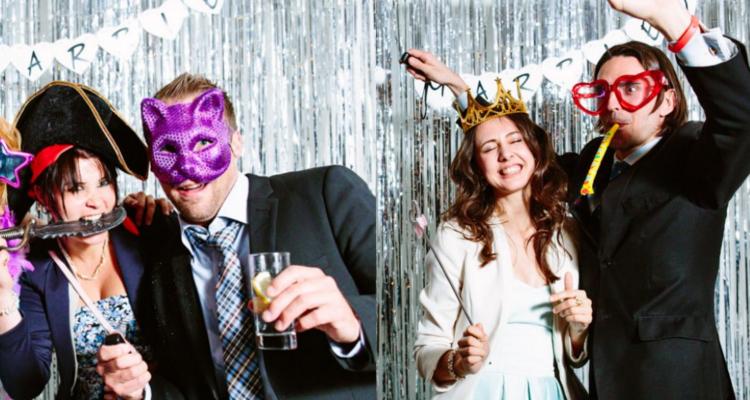 ventajas de tener un photocall en la boda