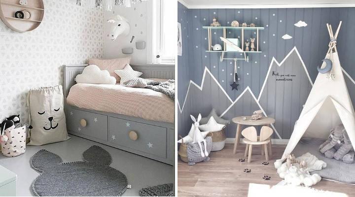 Maneras de decorar la habitación de los niños