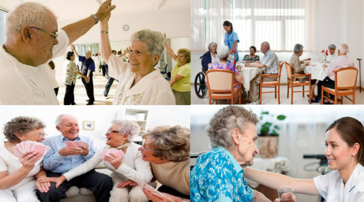 Cómo se puede pagar una residencia de ancianos