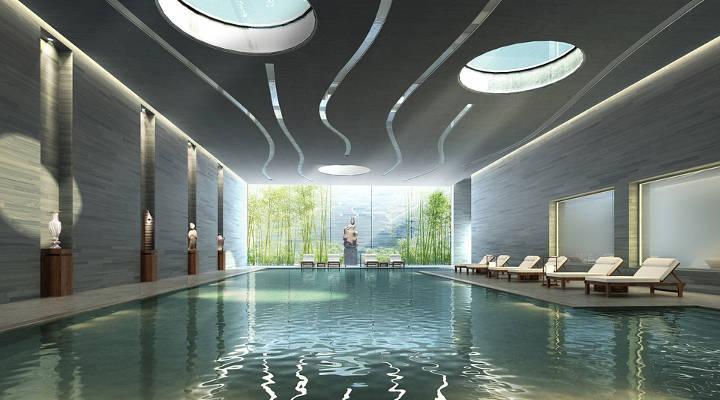 Ferias de la construcción - piscina