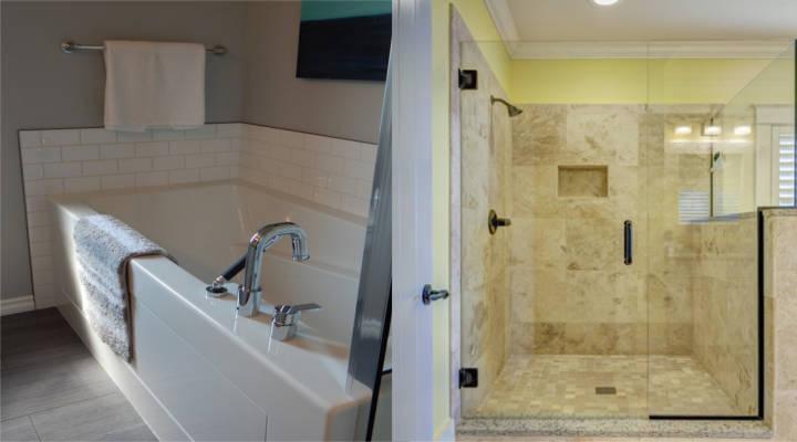 ¿Cuánto cuesta cambiar una bañera por un plato de ducha?
