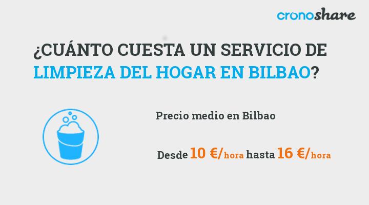 cuanto cuesta servicio limpieza hogar bilbao