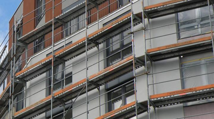 Cuánto cuesta rehabilitar un edificio - Andamio