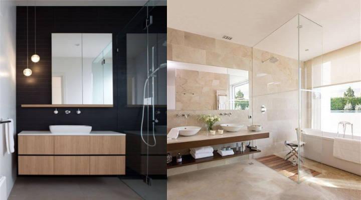 Ideas para reformar el cuarto de baño - Minimalista