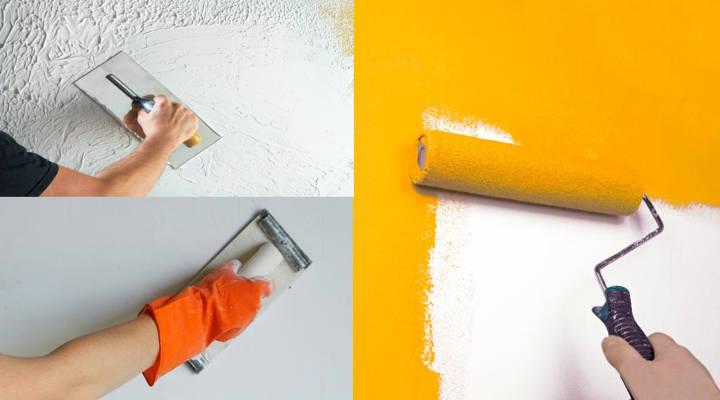 7 Alternativas para Pintar y Decorar Paredes de Interior – Ideas
