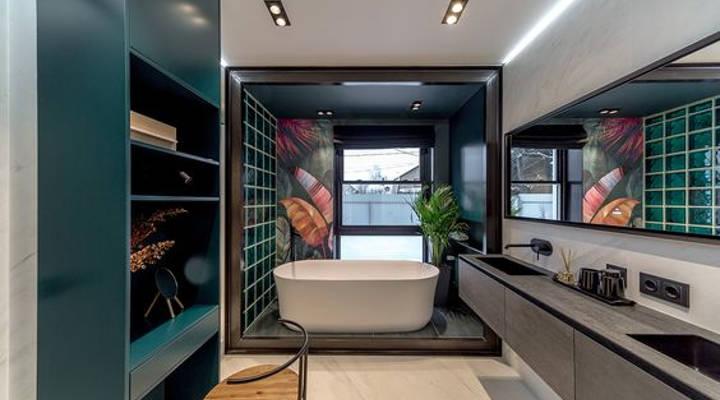 ideas para reformar el baño - ecléctico