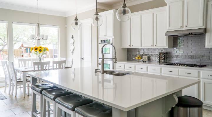 Cómo elegir encimeras de cocina: mármol, granito y Silestone | Guía definitiva