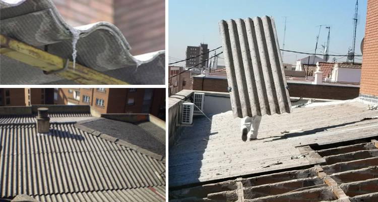 Cuánto cuesta retirar un tejado de uralita o amianto