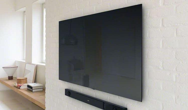 ¿Cuánto cuesta colgar la TV con un soporte a la pared?