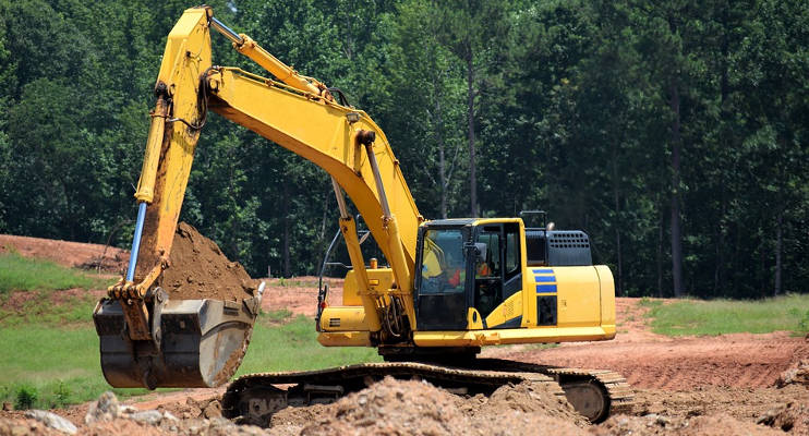 Cuánto cuesta una excavadora por día