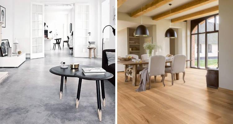 Precio de cambiar el suelo de un piso o una casa