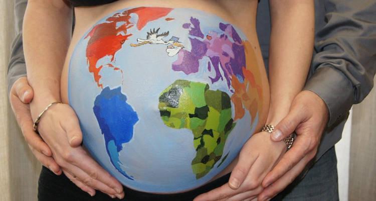 Belly Painting para embarazadas