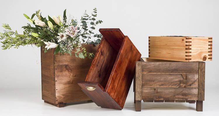Cómo construir jardineras de madera: Instrucciones