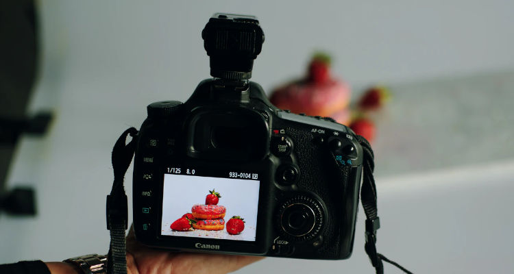 Precio servicio fotografía culinaria